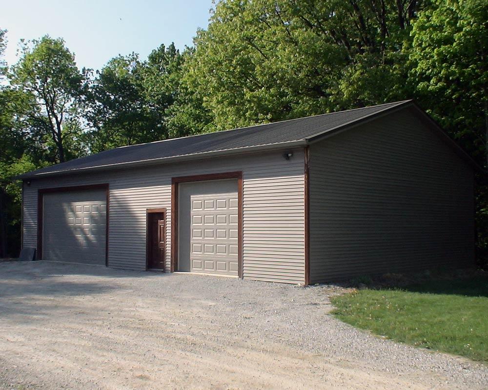 pa ct kit de garage barns pole doors kits double white nj va ny barn garages md